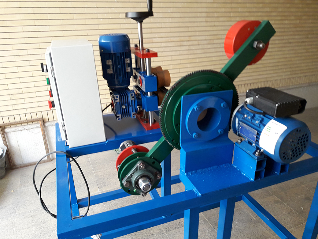Automatic small size tape wrapping machine