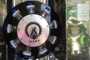 Wheel test machine